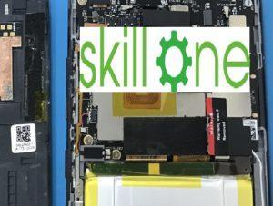 ZenfoneARの液晶での画面交換修理時の分解写真