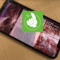 Zenfone5(ZE620KL)液晶破損