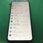 ZenFone6(ZS630KL)の画面交換修理完了後の写真