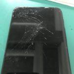 ZenFone6(ZS630KL)の画面交換修理前の写真